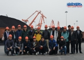 Official Visit of Joint Russian-South Korean Delegation to the Port of Rajin