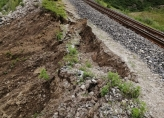 Continuation of measures to eliminate emergency situations due to landslide